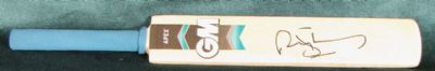 Andrew Strauss Autograph Signed Cricket Bat